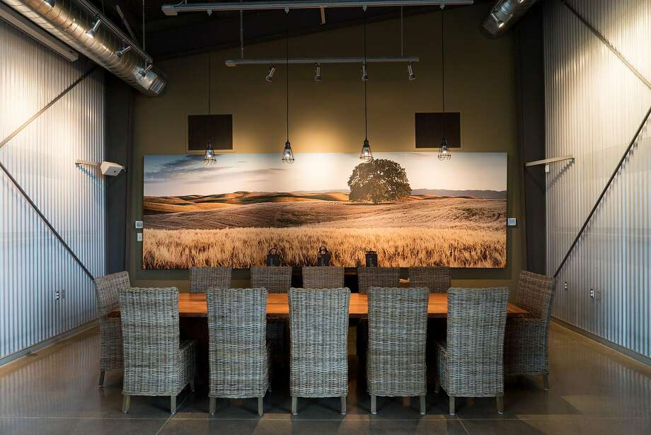 The interior of Matchbook Cellars is seen in Zamora, Calif. on Thursday, March 10, 2016. Matchbook Cellars features a great outdoor seating area. Photo: James Tensuan, Special To The Chronicle