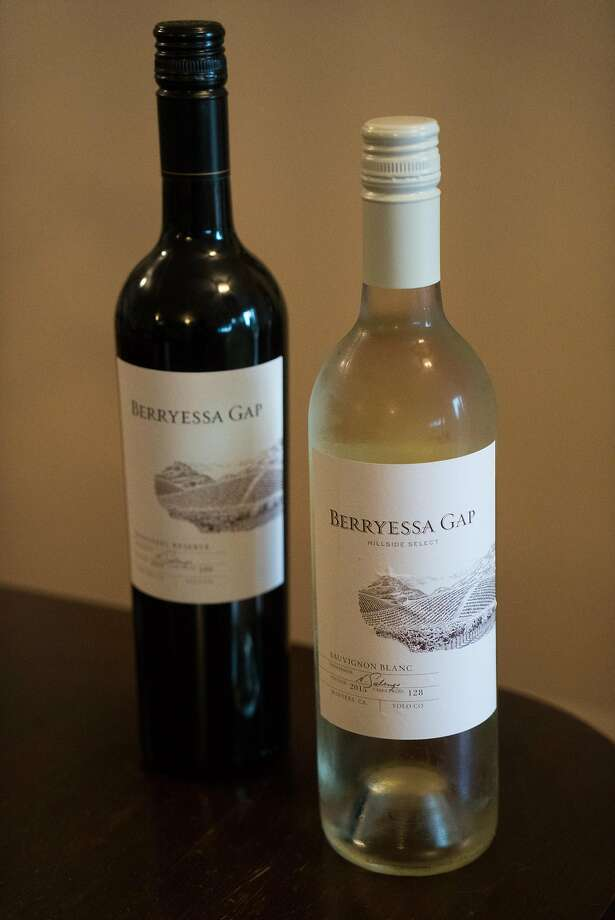 Wines from Berryessa Gap. Photo: James Tensuan, Special To The Chronicle