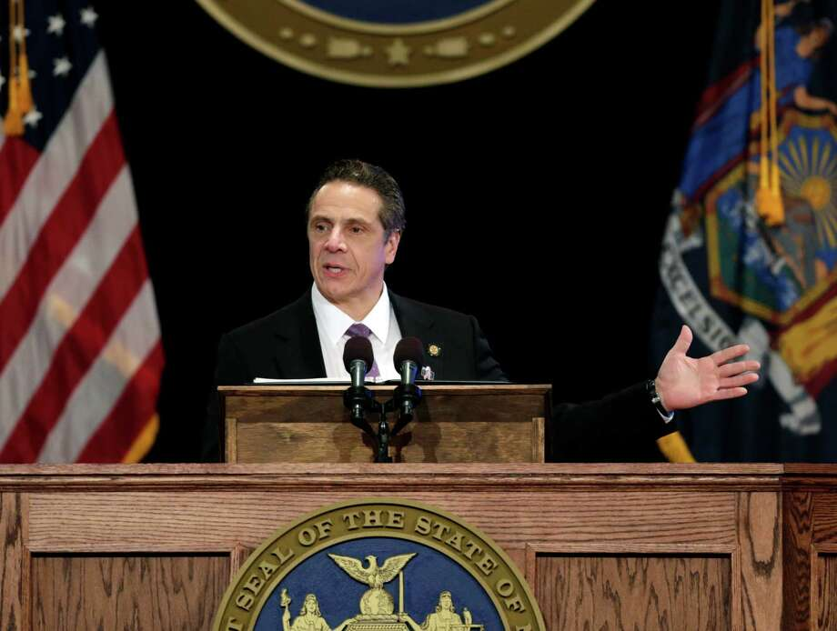 New York Gov. Andrew Cuomo doesn?t seem to be doing much on transparency. (AP Photo/Mike Groll) Photo: Mike Groll / AP