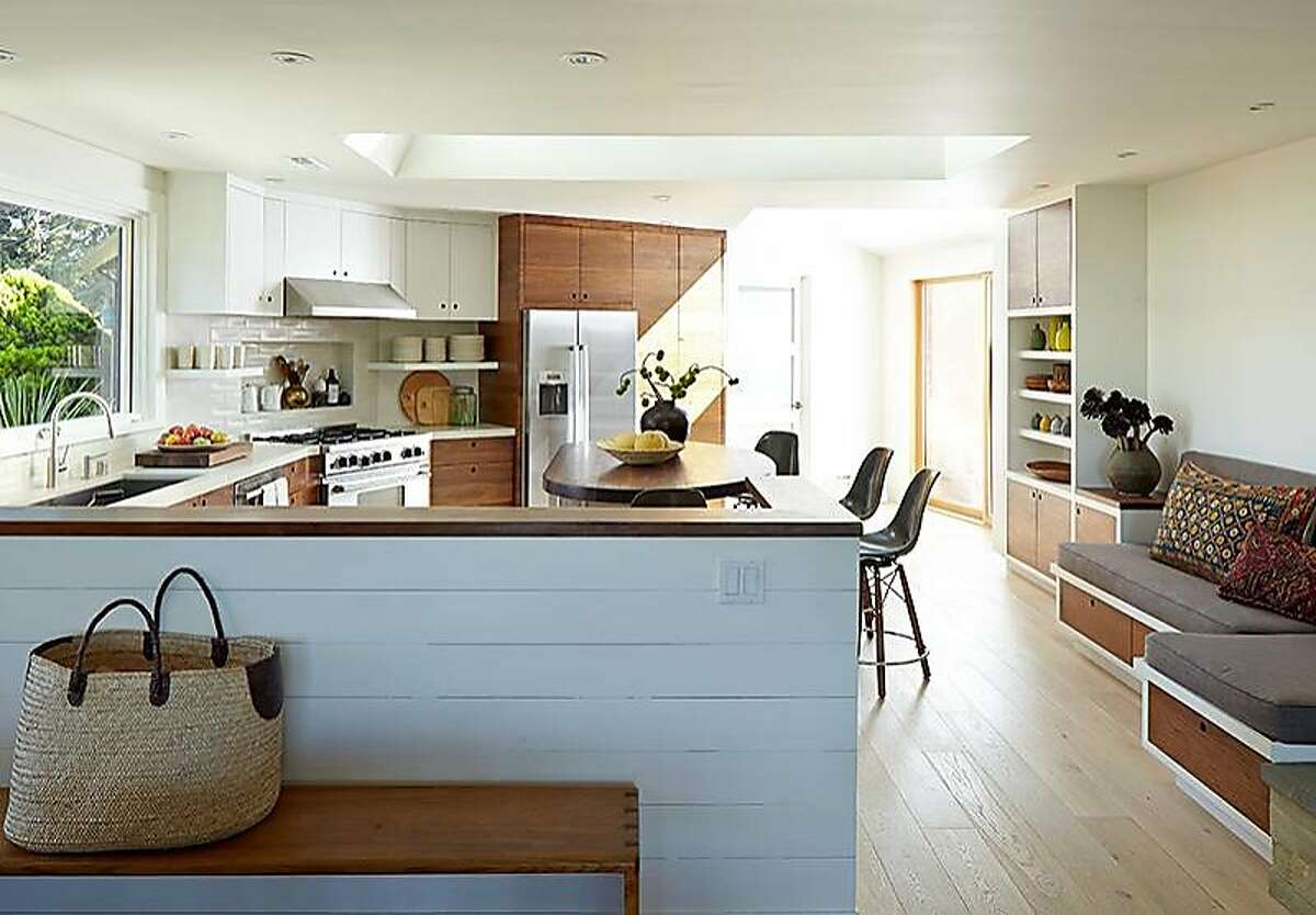 The Mill Valley kitchen of Barbara Siskin was redesigned by Rachel Cleaveland Riedy. Photo by John Merkl