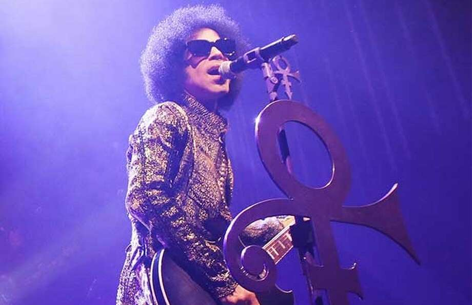 Keep clicking for a look at Prince during one of his concerts.