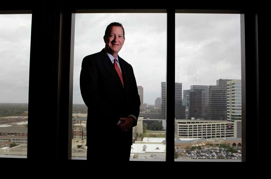 Lawyer Andy Taylor poses at his office at the Galleria Monday, Dec. 21, 2015, in Houston. Photo: Melissa Phillip /Houston Chronicle / © 2015 Houston Chronicle