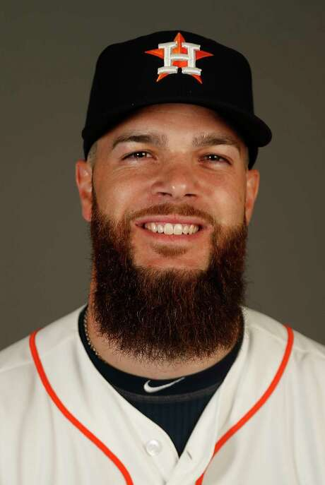 Houston Astros pitcher Dallas Keuchel at the Astros spring training in Kissimmee, Florida, Wednesday, Feb. 24, 2016.( Karen Warren / Houston Chronicle ) Photo: Karen Warren, Staff / © 2015  Houston Chronicle