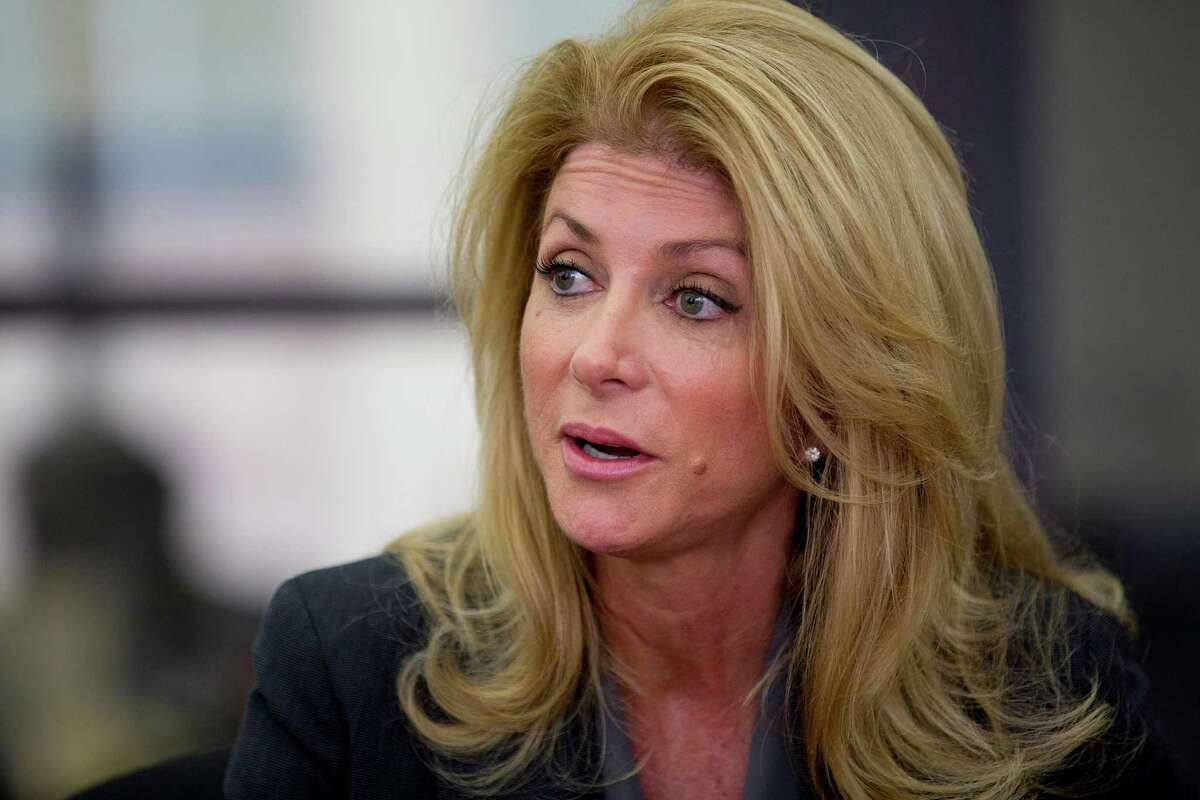 Former lawmaker Wendy Davis says the initiative, called Deeds Not Words, will tackle issues such as campus sexual assault, health care access and equal pay.