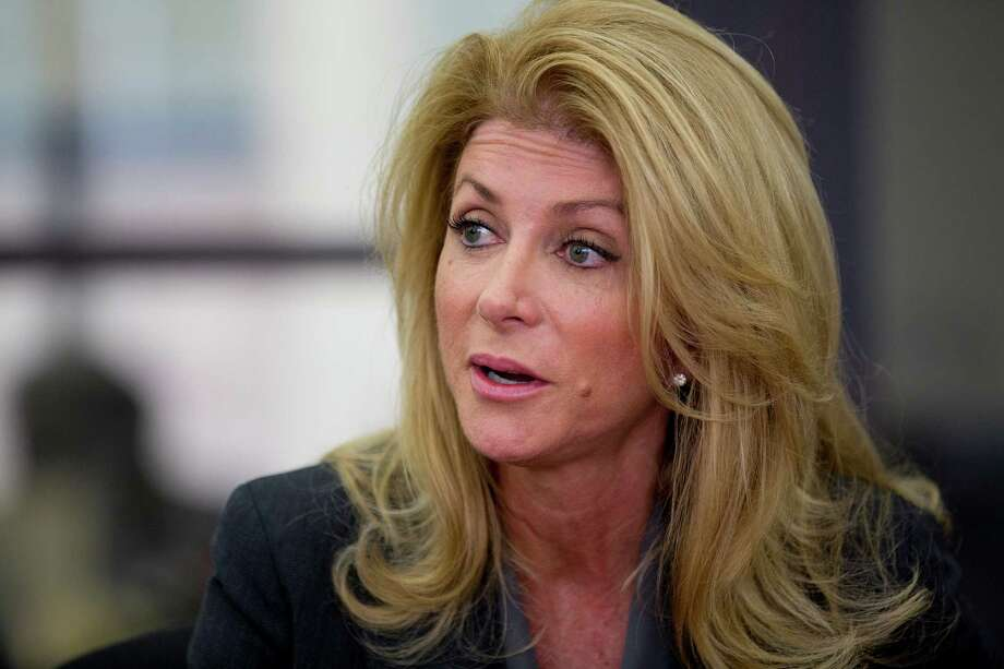Former lawmaker Wendy Davis says the initiative, called Deeds Not Words, will tackle issues such as campus sexual assault, health care access and equal pay. Photo: Johnny Hanson, Staff / © 2014  Houston Chronicle