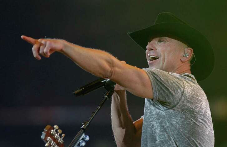 Kenny Chesney performs at RodeoHouston during the Houston Livestock Show and Rodeo in NRG Stadium Monday, March 14, 2016, in Houston. ( Melissa Phillip / Houston Chronicle )
