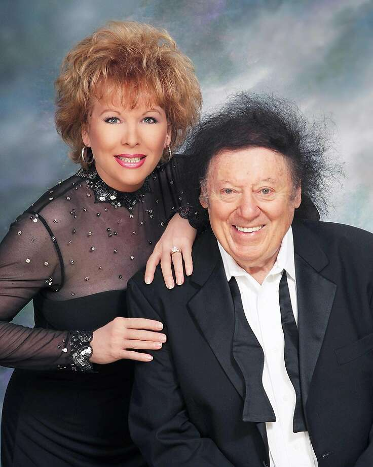 Marty Allen And Wife Karon Kate Blackwell Perform Together Photo Handout Courtesy