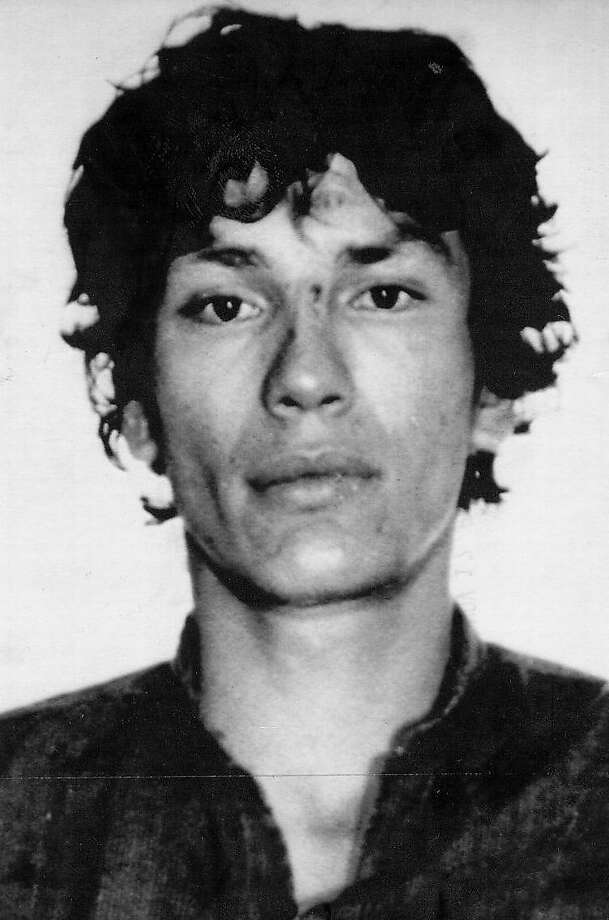 """A police photo of Richard Ramirez, 25, also known as the Night Stalker, who was convicted of 13 murders and is suspected in at least three more, including that of Mei """"Linda"""" Leung, a 9-year-old girl slain in San Francisco in 1984. A DNA sample from a second man was found at the scene, leading some to surmise a second suspect could have been involved, but police say that is unlikely. Photo: ASSOCIATED PRESS"""