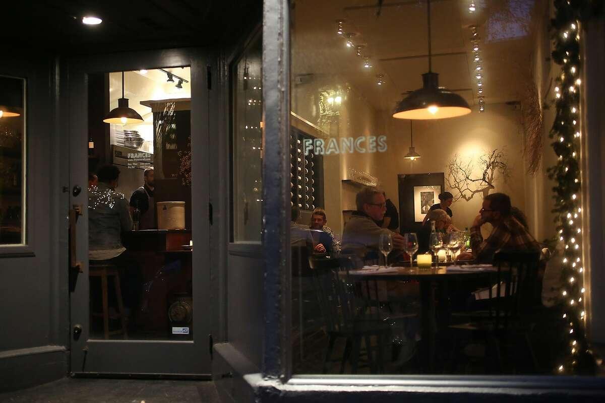 Frances Cuisine: American Find them:3870 17th St. (415) 621-3870, frances-sf.com