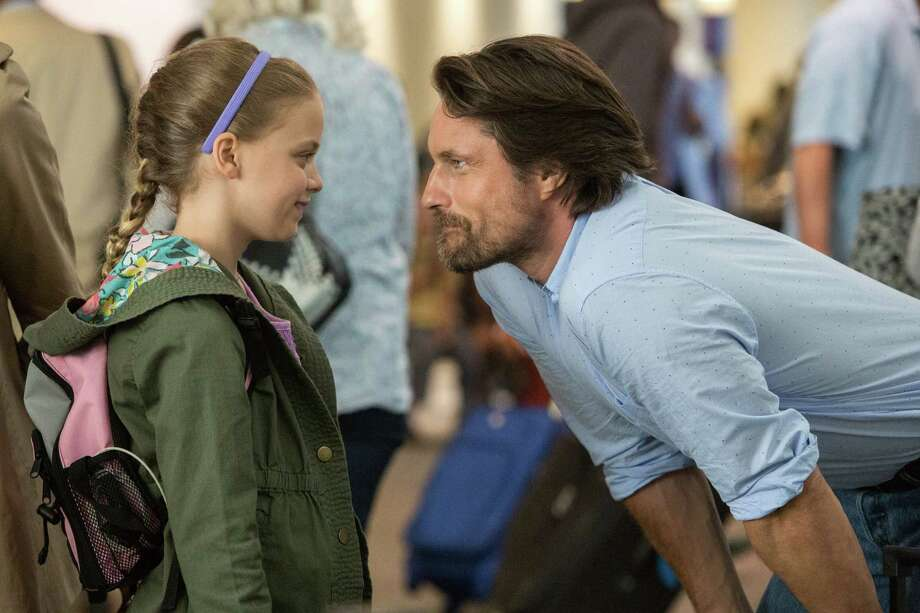 "This image released by Sony Pictures shows Kylie Rogers, left, and Martin Henderson in a scene from Columbia Pictures', ""Miracles from Heaven.""  (Chuck Zlotnick/Sony Pictures via AP) Photo: Chuck Zlotnick, HONS / AP / Sony Pictures"