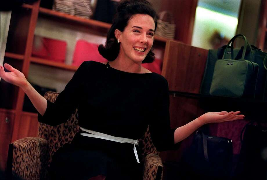 Kate Spade began designing handbags in 1992. At Bal Harbour Shops in Miami, 12-year-olds with her $200 handbags ask for her autograph in 1999.   Photo: CANDACE BARBOT, KRT