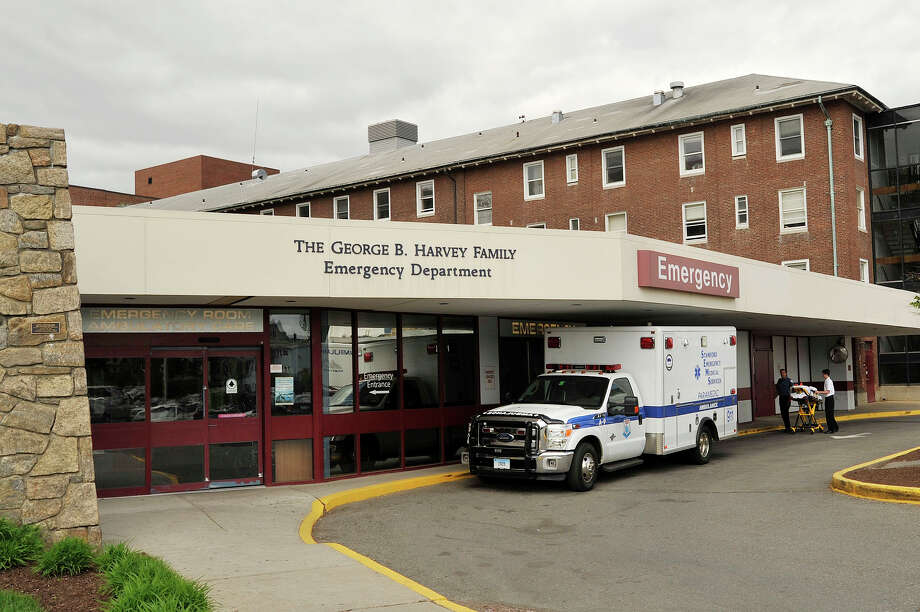 The emergency department entrance of Stamford Hospital can be seen in Stamford, Conn., on Wednesday, May 13, 2015. Photo: Jason Rearick / Jason Rearick / Stamford Advocate