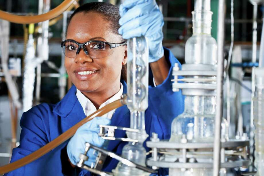 21. Chemical EngineersMedian salary:$98,259Percentage of women in occupational group:15.5 Photo: Susan Chiang, Getty Images / (c) Susan Chiang