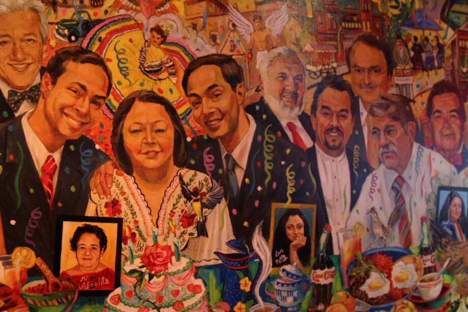 The 33-foot-long oil mural at the Pico de Gallo restaurant honors Rosie Castro and other prominent members of the Hispanic and San Antonio communities.Keep clicking to see 20 people every San Antonian should be able to recognize.