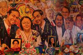 """The Pico di Gallo mural honors Rosie Castro and other hidden gems"""" from within the San Antonio community."""