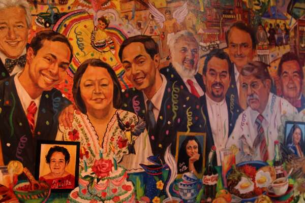 "The Pico di Gallo mural honors Rosie Castro and other hidden gems"" from within the San Antonio community."