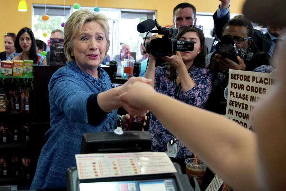 The tale of the tape was clear -- Hillary Clinton is the winning Democratic contender. Take a look at her greatest hits so far. Photo: Carolyn Kaster, AP / Other