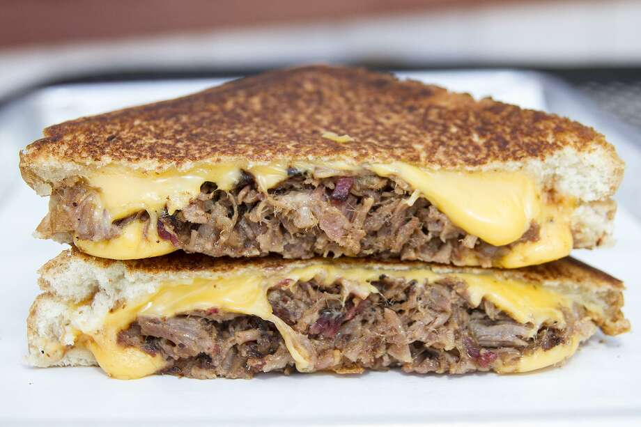 Brisket grilled cheese sandwich Photo: Alma E. Hernandez /For The Express News