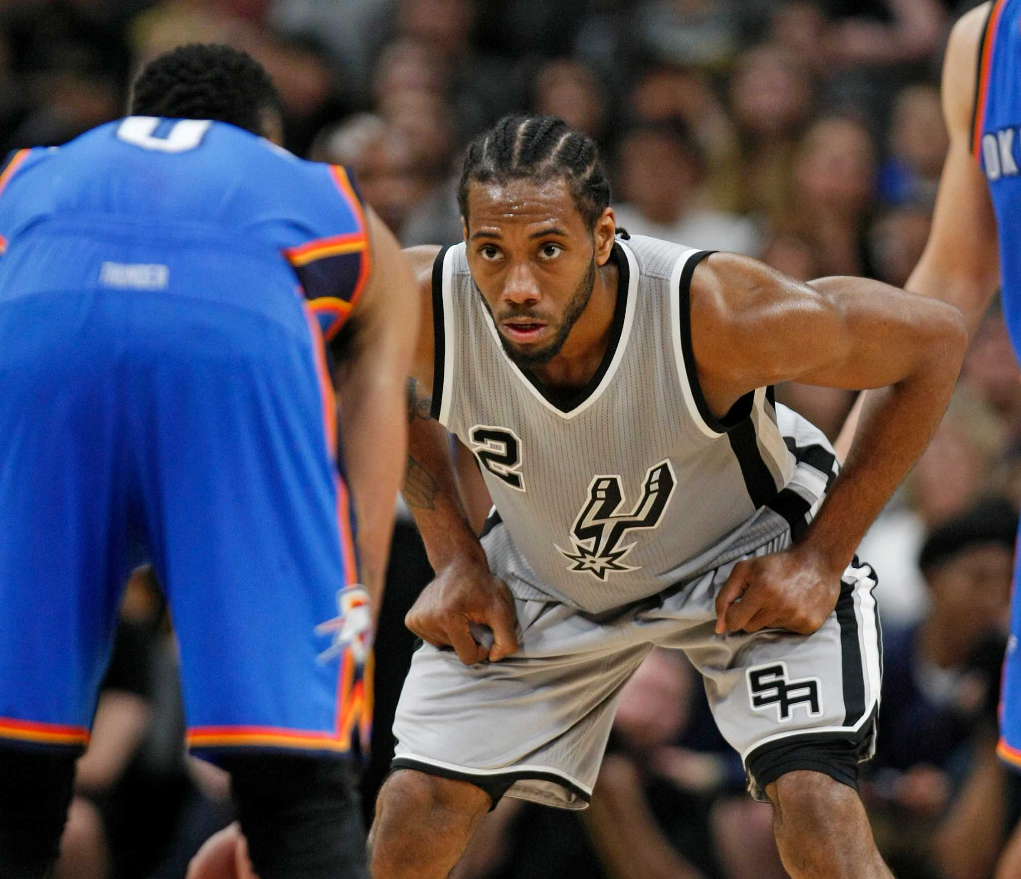 0ca0add50 Who is the NFL s Kawhi Leonard  Comparing Spurs to current ...