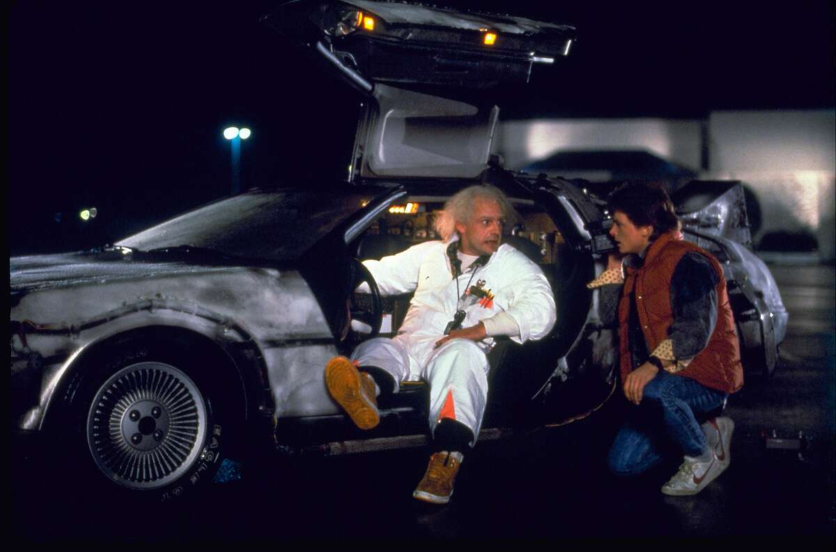 Back to the Future l, ll, and lll (1985, 1989, and 1990)Leaving Oct. 1Marty McFly travels to the past and the future with scientist Doc. Brown in a time traveling DeLorean in this comedy trilogy.