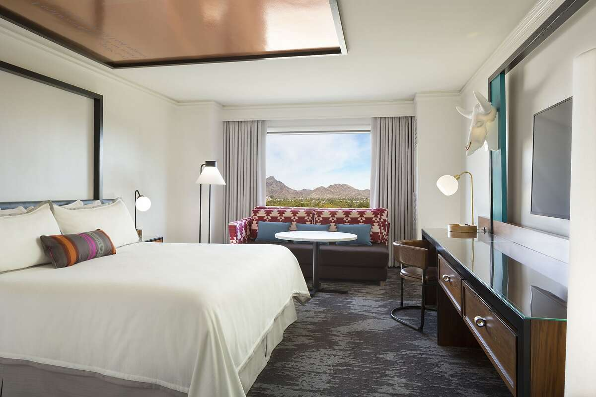 The new Camby Hotel in Phoenix takes its name from nearby Camelback Mountain. Photo: Courtesy of The Camby Hotel