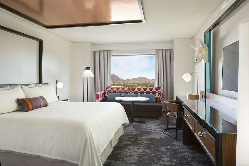 The new Camby Hotel in Phoenix takes its name from nearby Camelback Mountain.