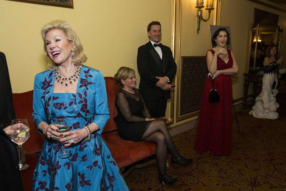 Dede Wilsey, shown at a ballet gala, sparked controversy with a large payout to a staff member for the museums, and then fired the executive who raised questions about the expenditure. Photo: Laura Morton, Special To The Chronicle