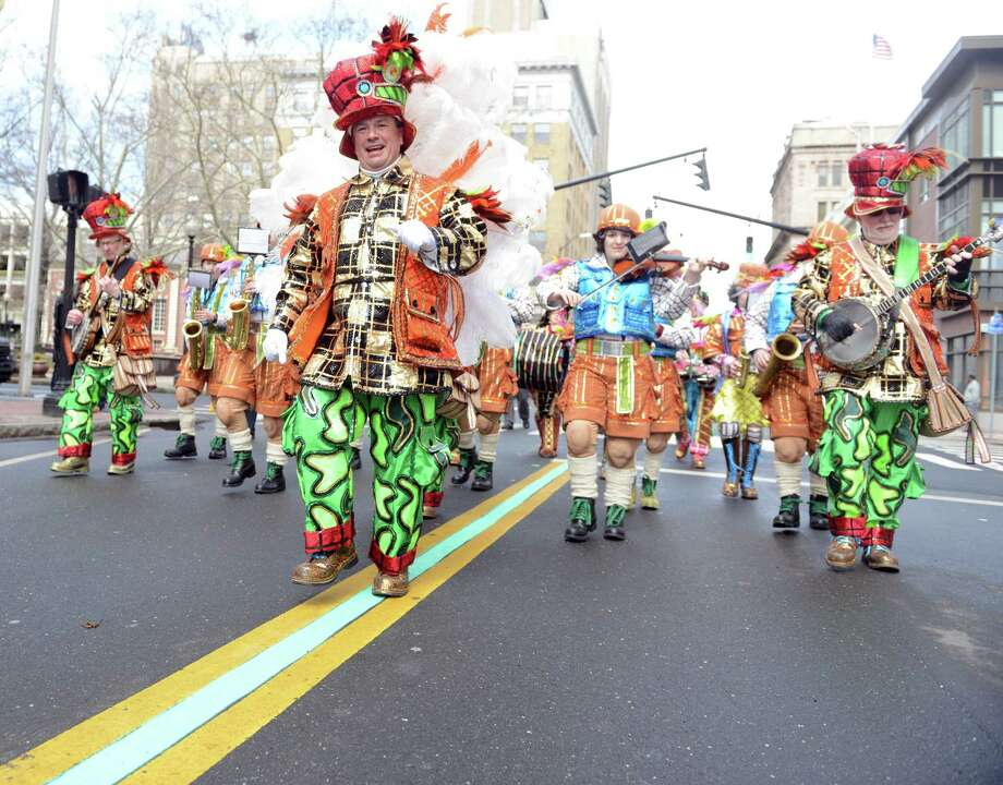 The luck of the Irish with with the 37th Annual Greater Bridgeport St. Patrick's Day Parade on Friday. Find out more.  Photo: Autumn Driscoll / File Photo / Connecticut Post