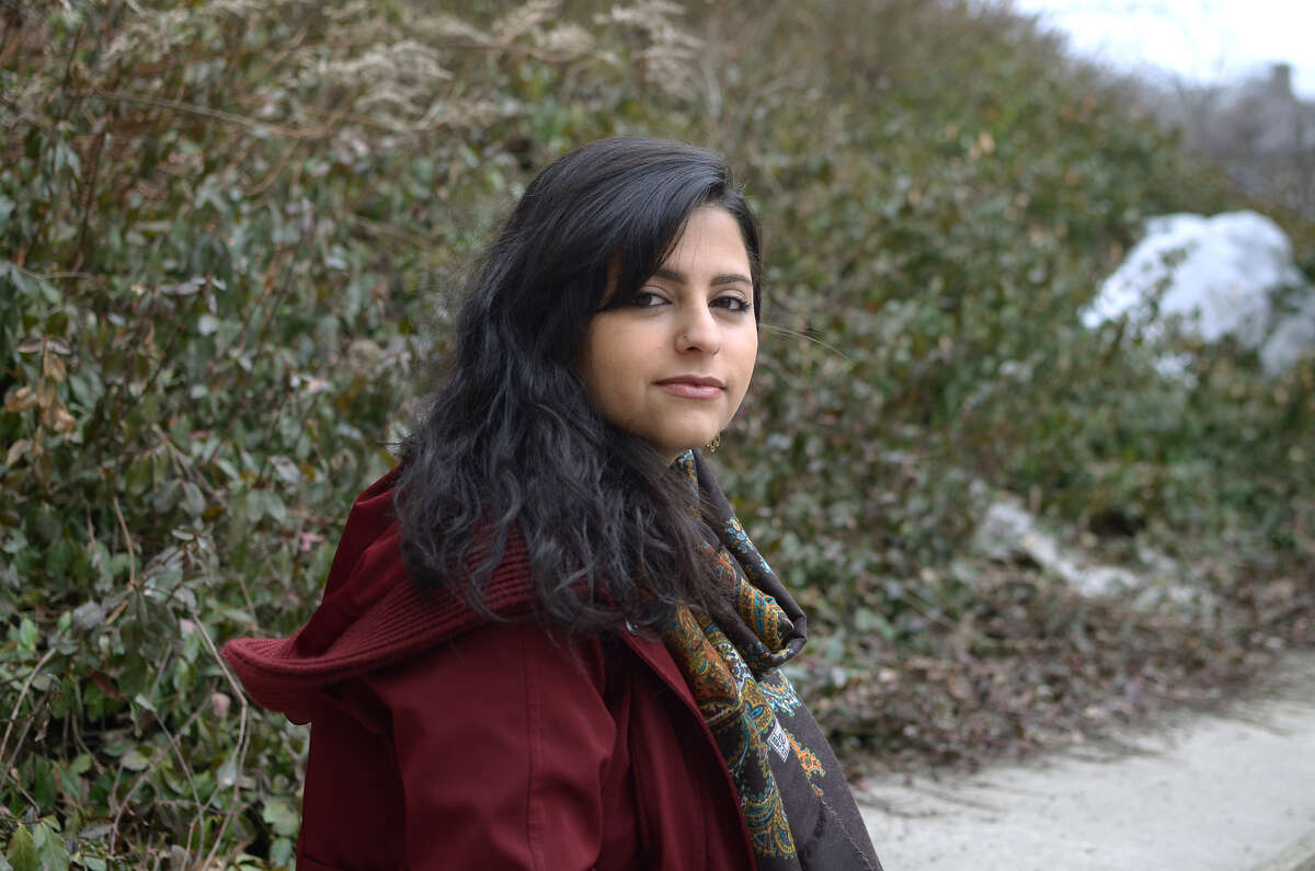 Sana Mustafa, a Bard College senior and Syrian refugee, will participate in a panel discussion on the global immigration and refugee crisis at the Rockefeller Institute in Albany Thursday, March 17 (Photo courtesy Sana Mustafa)