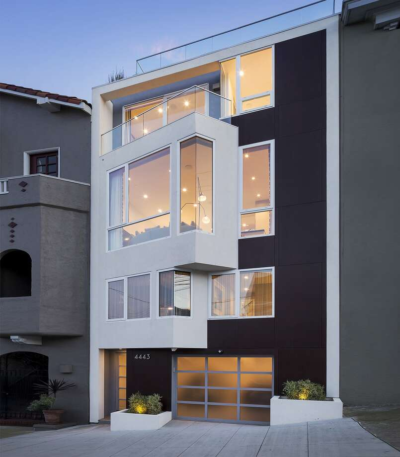 4443 19th St. in the Castro District is a LEED Platinum home built in 2014 by DNM Architects. The three-bedroom home is on the market for the first time. Photo: Jacob Elliott Photography