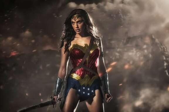 "Gal Gadot as Wonder Woman in ""Batman V Superman"""