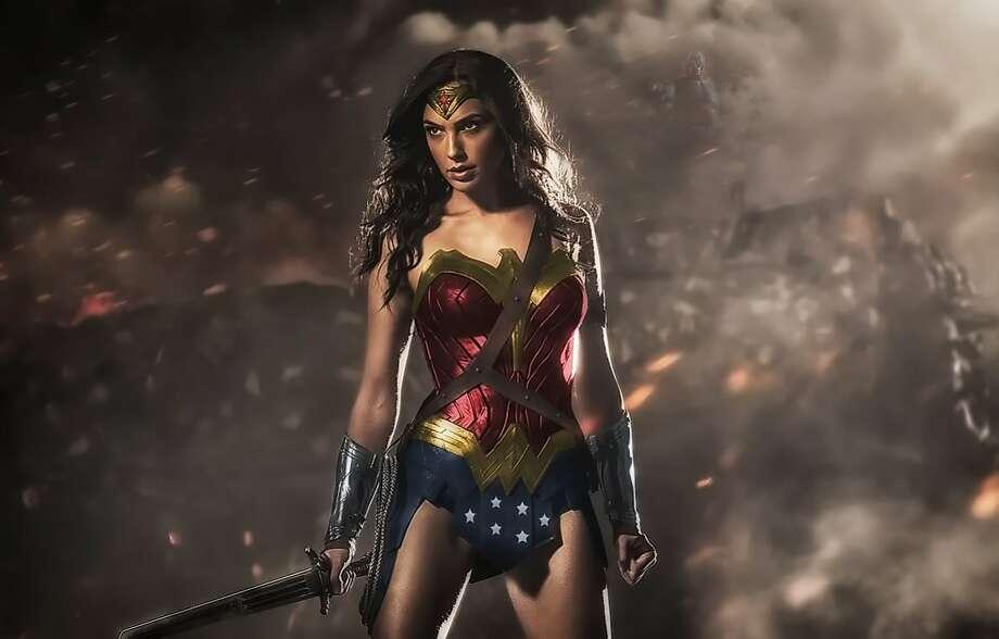 "Gal Gadot as Wonder Woman in ""Batman v Superman."" Photo: Warner Bros."