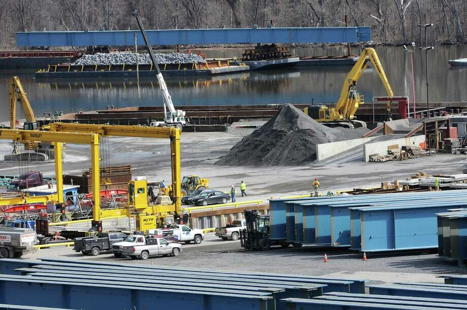 The Port of Coeymans on Tuesday, March 15, 2016 in Coeymans, N.Y. (Lori Van Buren / Times Union) Photo: Lori Van Buren / 10035847A