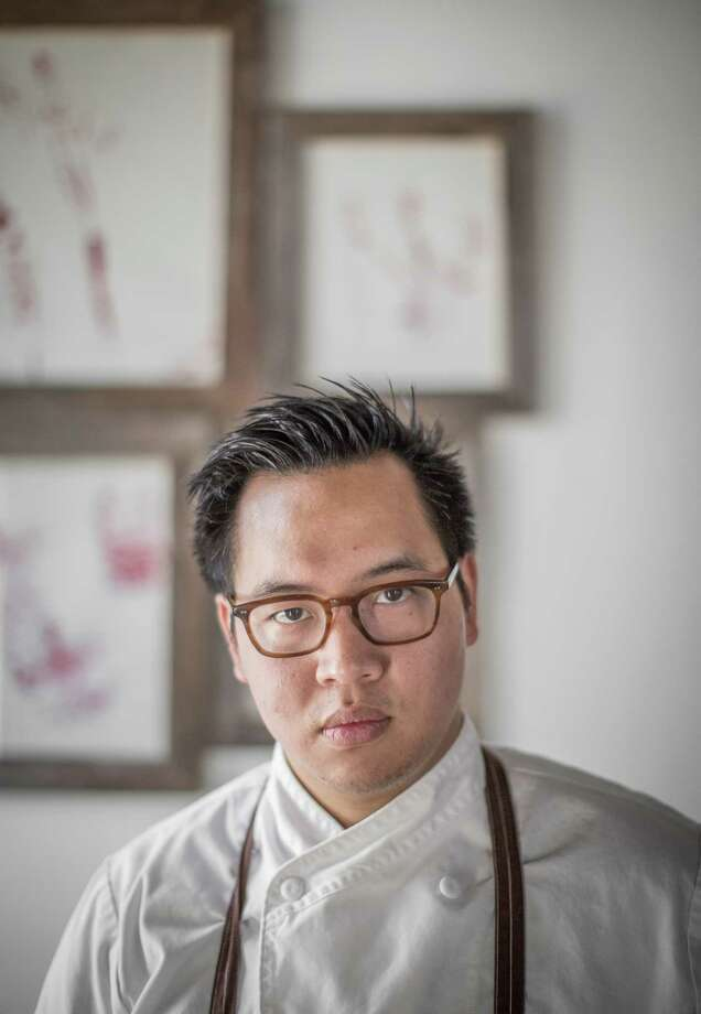 Justin Yu, chef-owner of Oxheart restaurant, photographed, Friday, May 29, 2015, in Houston. ( Nick de la Torre /  ) Photo: Nick De La Torre / ONLINE_YES