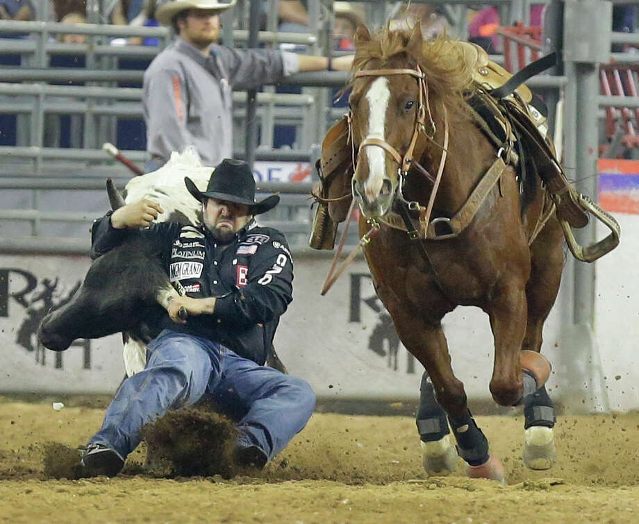 Steer Wrestler Luke Branquinho Captures Super Series V