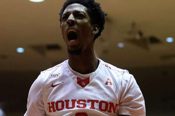 "Coach Kelvin Sampson refers to forward Danrad ""Chicken"" Knowles as the X factor for UH."