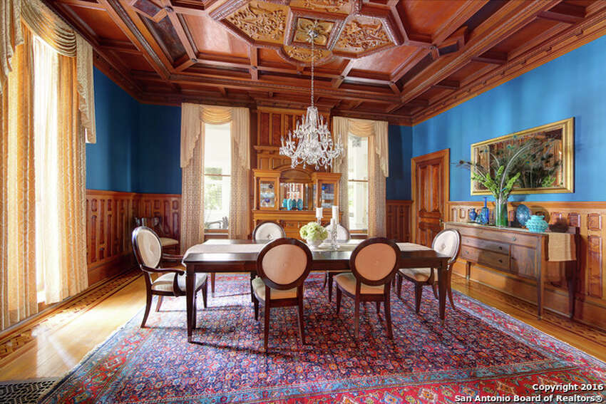The home was enlarged and remodeled in 1900 to reflect an Italian villa style, according to a San Antonio Conservation Society brochure.