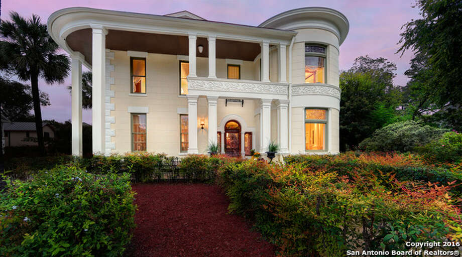 1. Designated as a San Antonio Historical Landmark, the estate at 504 King William has been listed for $1.95 million.The home was built in 1883 by renowned architect Albert Giles for Albert Steves, the son of Edward Steves, who founded the Steves Lumber Company. Photo: Courtesy,  Kevin Crawford Via MySA.com