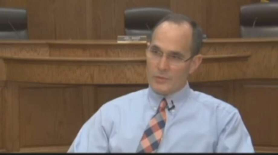 Smith County Judge Joel Baker resigned from his position on the State Commission on Judicial Conduct on Monday after allegations surfaced that he sent a woman several sexual text messages as he was serving on the commission at a meeting. Photo: Screenshot Via Inform
