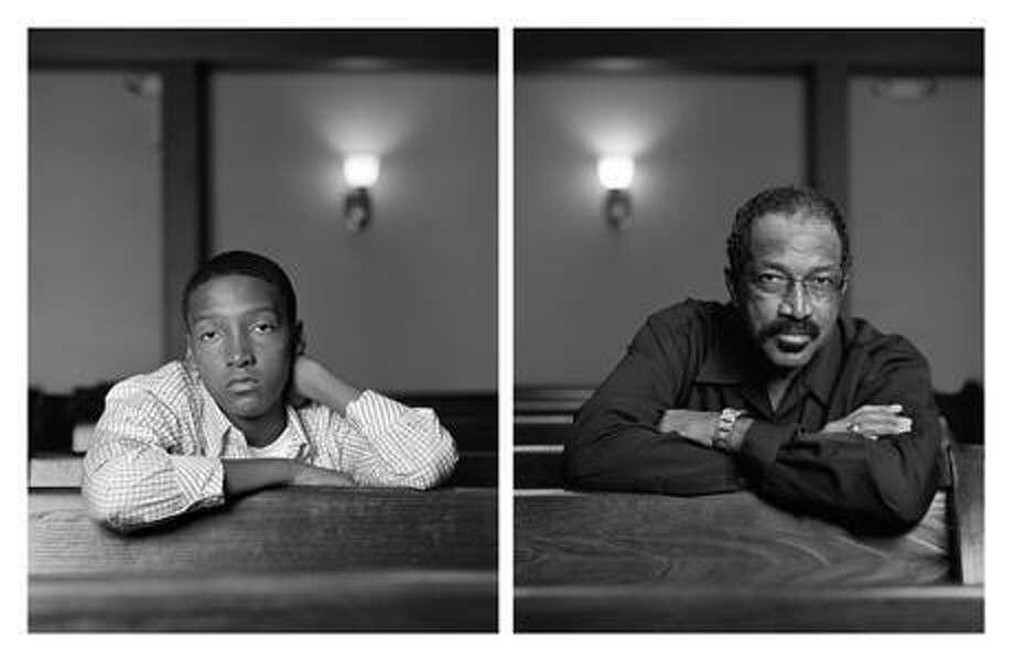 "Dawoud Bey, ""The Birmingham Project: Braxton McKinney and Lavon Thomas"" (2012). Photo: Courtesy The Artist, Rena Bransten Gallery"