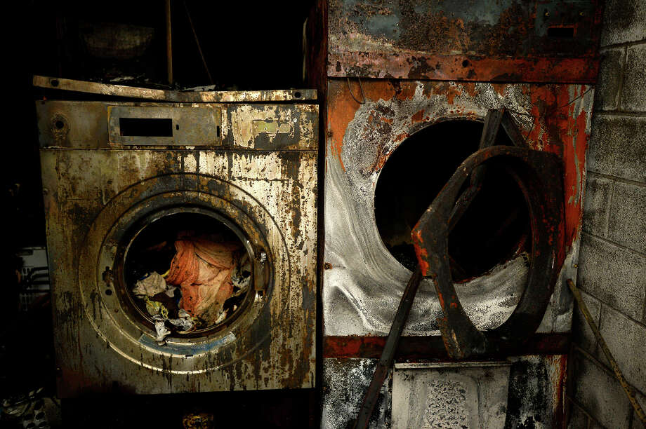 A Tuesday night fire at the Humane Society of Southeast Texas is believed to have started in the dryer in their laundry room.  Photo taken Wednesday 3/16/16 Ryan Pelham/The Enterprise Photo: Ryan Pelham / ©2016 The Beaumont Enterprise/Ryan Pelham