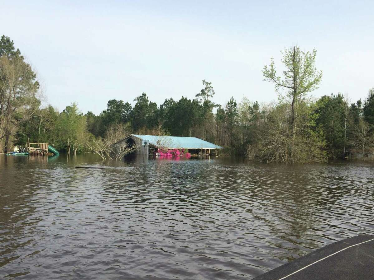 March 2016 scenes from Deweyville. The small east Texas town was hit with the worst flooding in 130 years, sending residents from their homes, wondering how they would recover and rebuild.