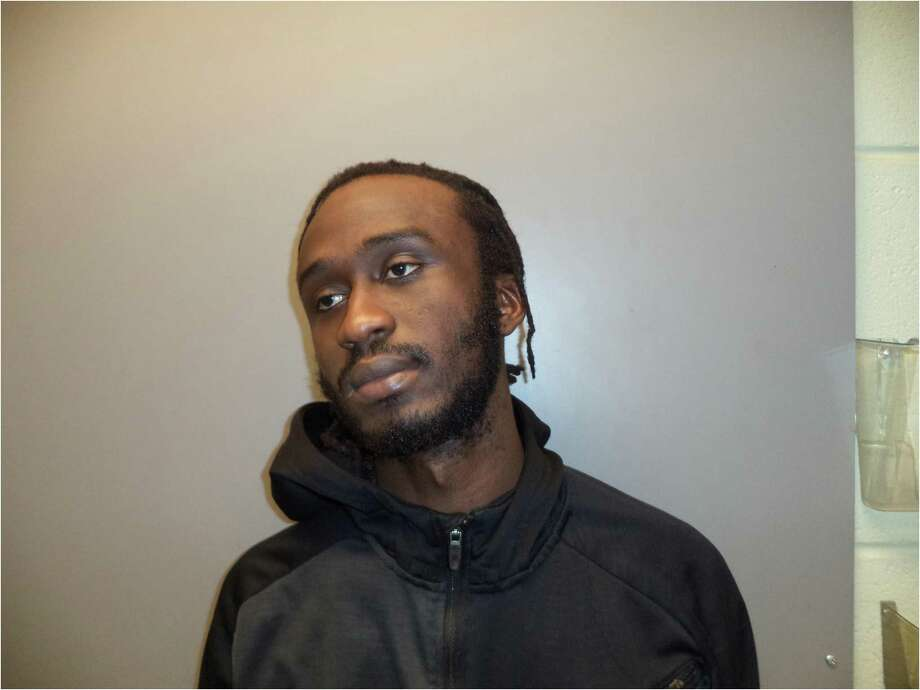 Sandi Koroma, 21, of Terrace Avenue, West Haven, was charged with illegal sale of a pistol, illegal sale of ammunition, and possession of a pistol without a permit, according to police. Photo: Stamford Police