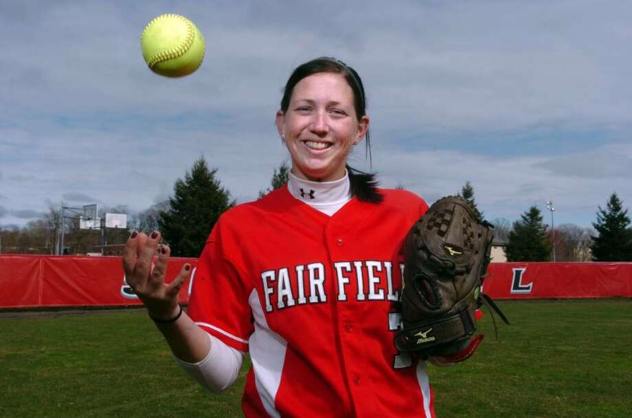 Fairfield University softball player Dani Griswold is returning as a starting outfielder following an illness. Photo: Autumn Driscoll / Connecticut Post
