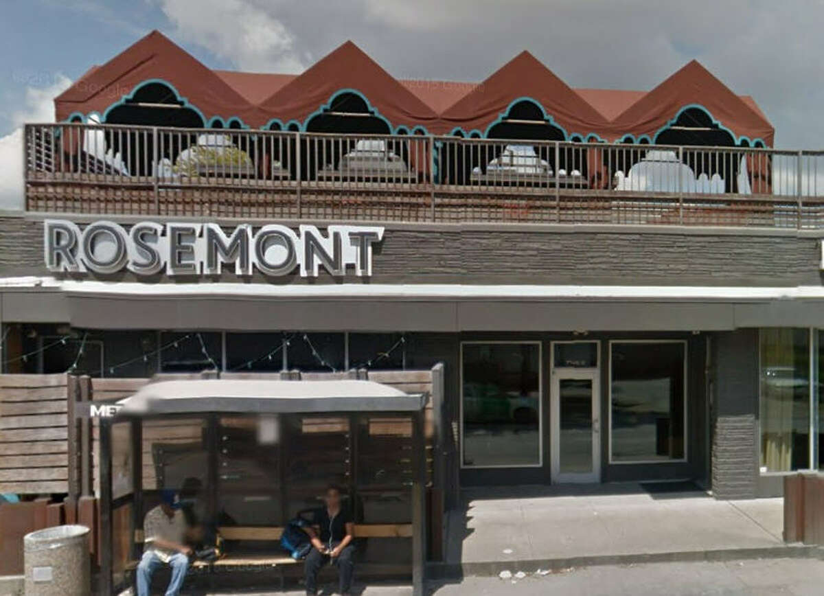 Rosemont Social Club 910 Westheimer, Houston, Texas 77006 Demerits: 11 Inspection highlights: Condemned approximately 1000 lbs. of ice contaminated by slime; Ice maker quarantined. Observed bulk packaged food (box of potatoes) stored on the floor in the kitchen. Photo by: Google Maps
