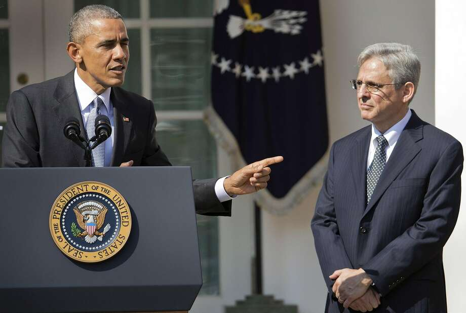 President Obama nominated judge Merrick Garland for the Supreme Court. Photo: Pablo Martinez Monsivais, AP