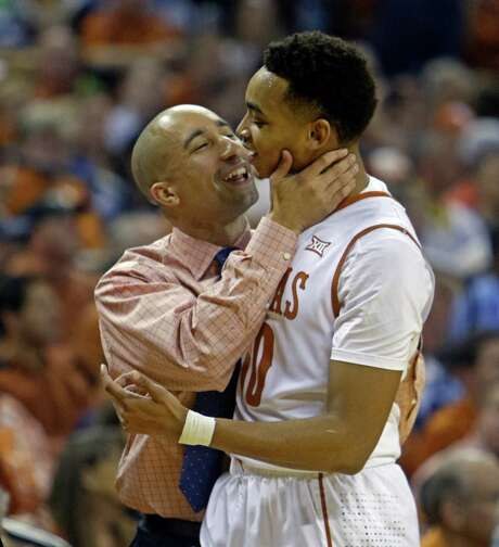 Texas coach Shaka Smart uses psychological ploys to get the most out of freshmen like Eric Davis Jr. Photo: Michael Thomas, FRE / FR65778 AP