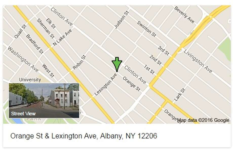 A shooting on Orange Street Wednesday afternoon resulted in a man shot in the hand and leg, Albany Police said.