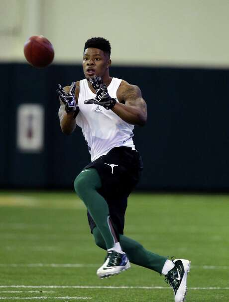 Corey Coleman was at the top of his game Wednesday during Baylor's pro day. Photo: LM Otero, STF / AP