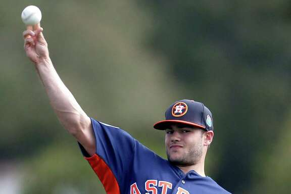 The Astros hope Lance McCullers will be able to resume bullpen sessions before spring training ends.